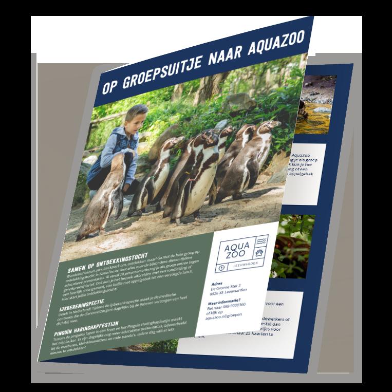 brochure schoolreisje